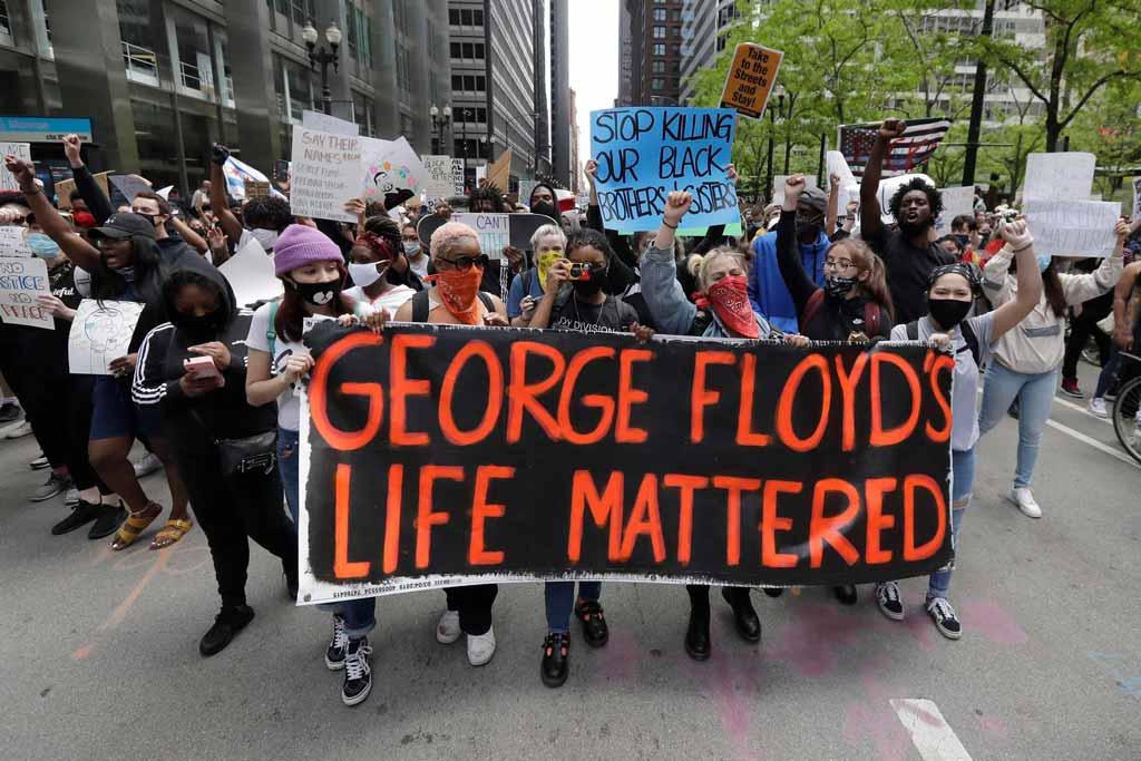 அமெரிக்கா : நீதியில்லையேல், அமைதியில்லை !