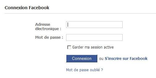 Facebook Login Connexion Inscription Sur Facebook