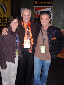 Vincent and hosts Debi and John Corso.
