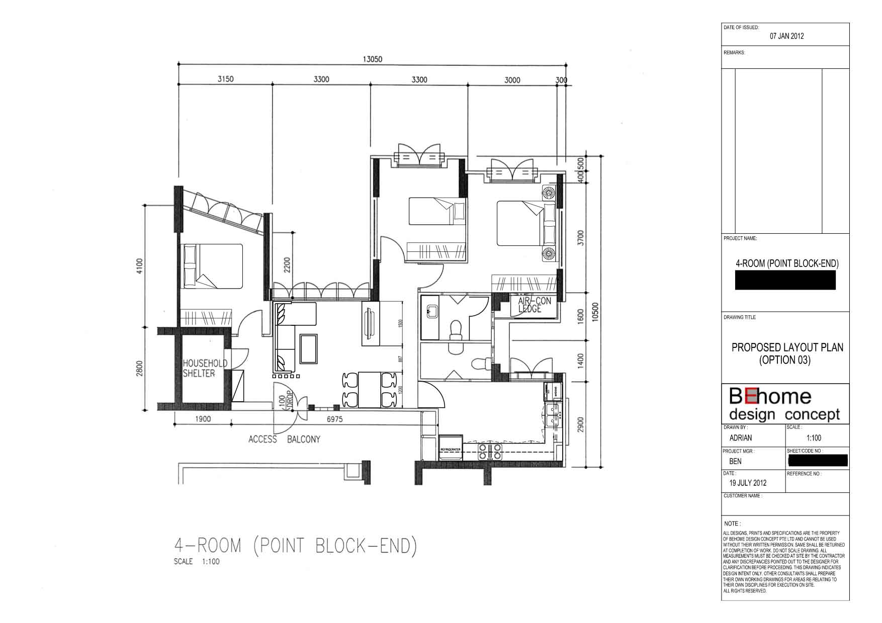 Floor Plan Archives