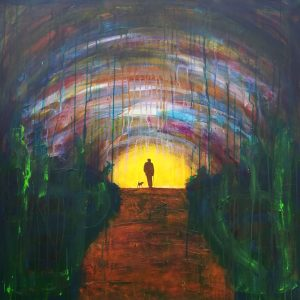 Road series: Evening Stroll Vincent McDonnell