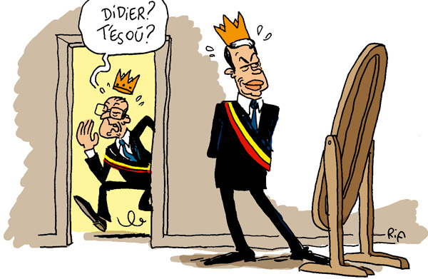 Le mystèrieux Reynders
