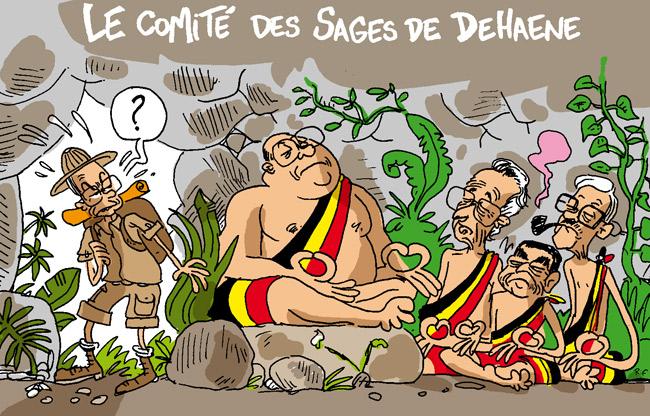 Le comité des sages de Jean-Luc Dehaene