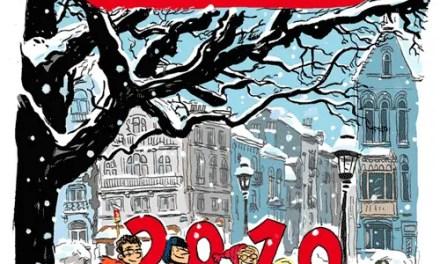 Meilleurs vœux pour 2010 (Place des Bienfaiteurs)
