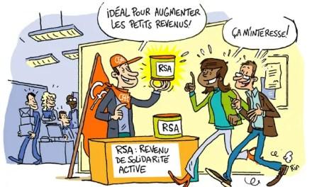 Illustration sur le revenu de solidarité active (RSA)
