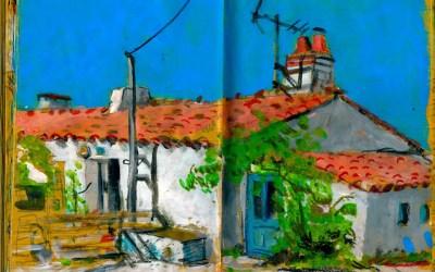 Extrait de carnet de voyage en Vendée