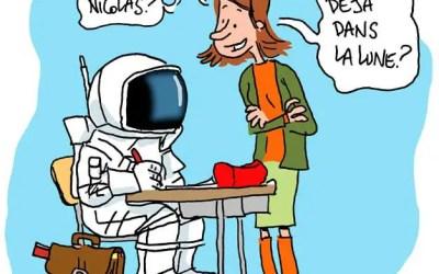 Jeunes passionnés d'astronomie