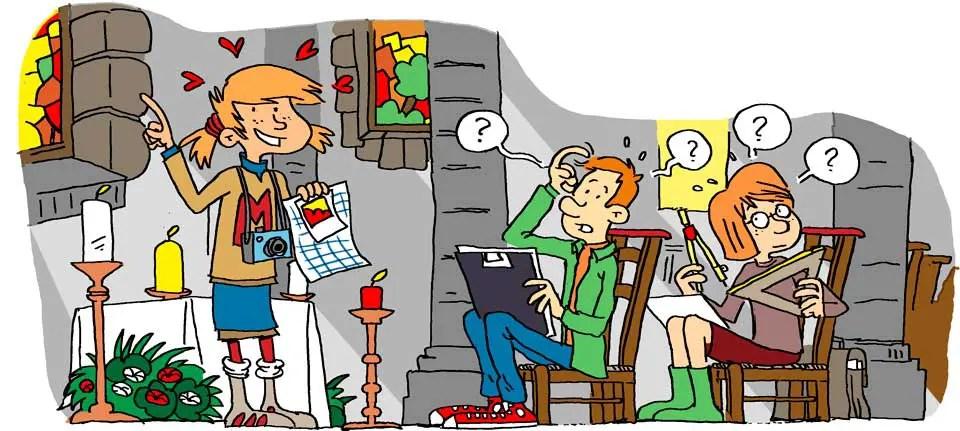 Illustration pour une revue pour enfants