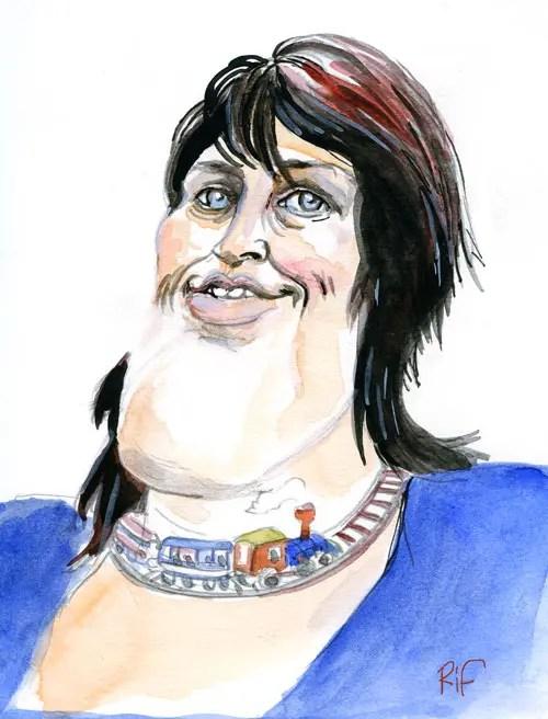 Jacqueline Galant, bourgmestre de la commune de Jurbise et ex-Ministre fédérale belge de la Mobilité