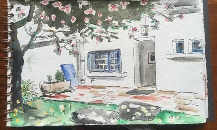 Carnet de voyage à Carnac – Aquarelles – Pâques 2014 – Part III