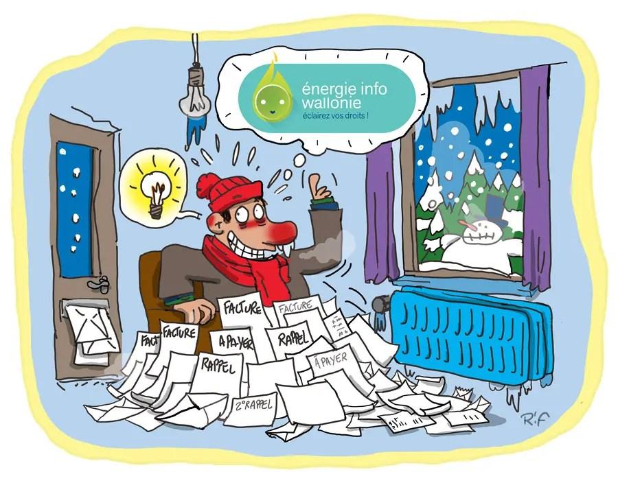 Illustration pour la communication de l'asbl énergie info wallonie.