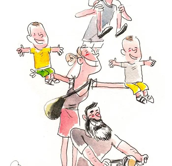 Portrait approximatif d'une famille : les Jeroens