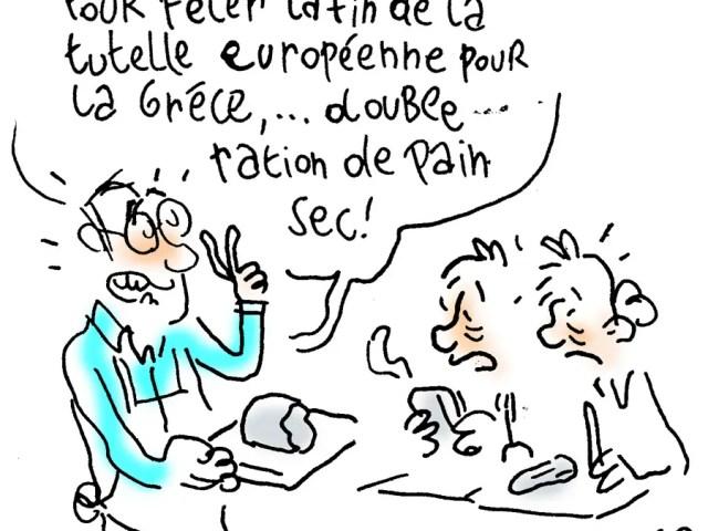 Fin de la tutelle européenne sur la Grèce