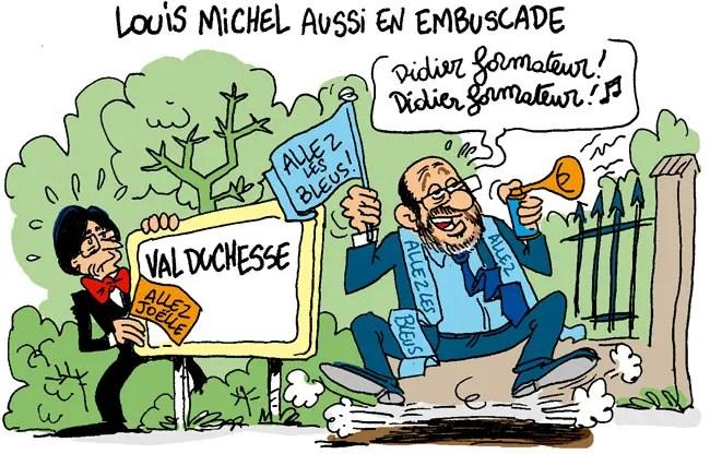 Louis Michel lance un avertissement au formateur