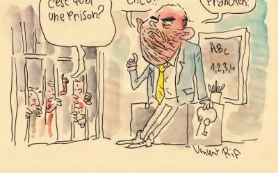Theo Francken et la prison pour enfants