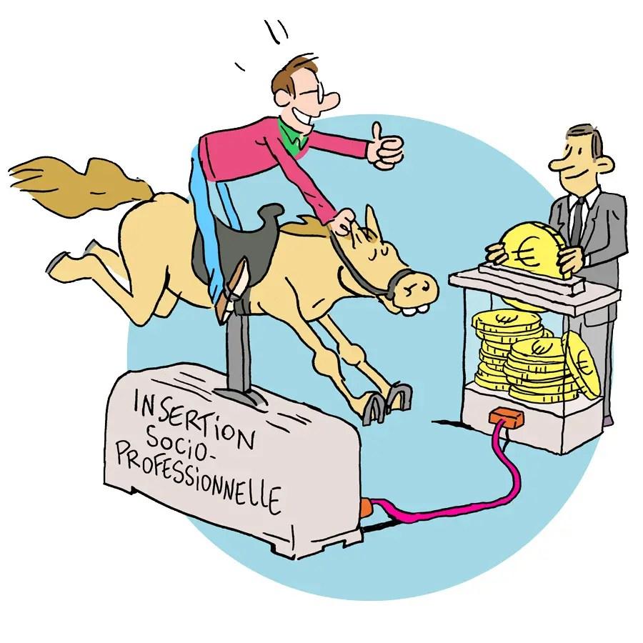Illustration pour le financement secteur des Centres d'insertion socioprofessionnelle