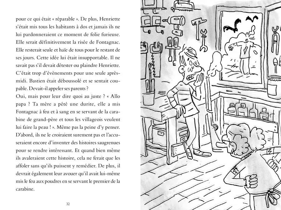 Mamie Henriette (pages intérieures)