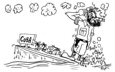 Fidel Castro et sa fidèle gastro
