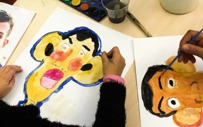 Animation d'un atelier Caricature
