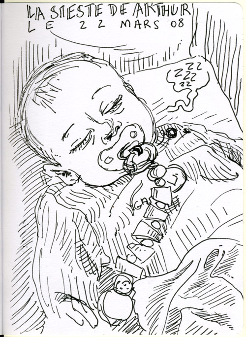 Arthur Rif, six mois.