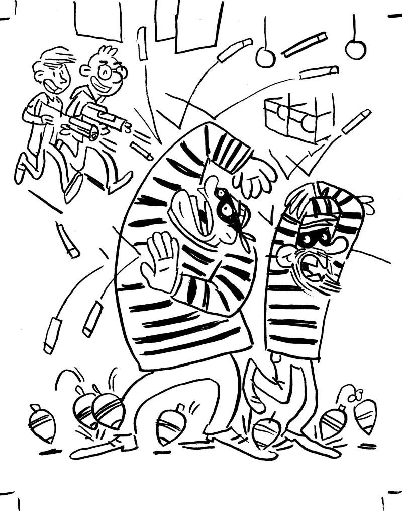 Bandits dans King of toys