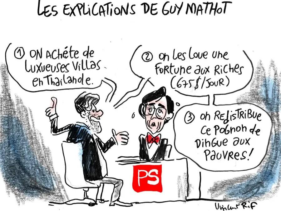 Les explications de Alain Mathot