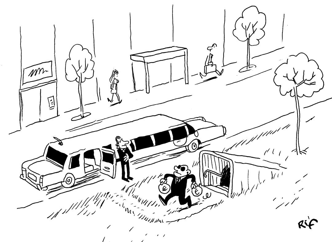 L'économie souterraine vue par Vincent Rif