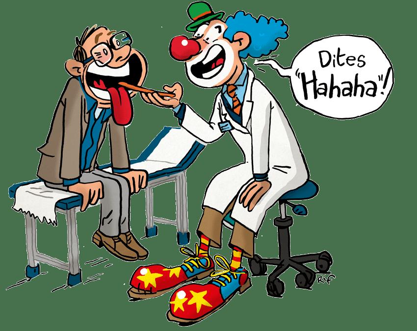 Le vrai pouvoir du rire
