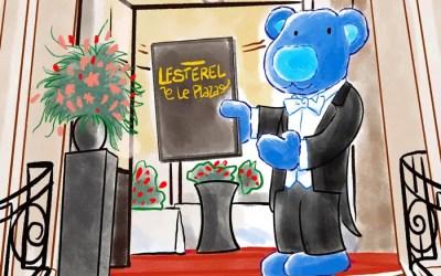 Eliot à l'hôtel Plaza de Bruxelles