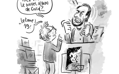 Denis, libraire BD…