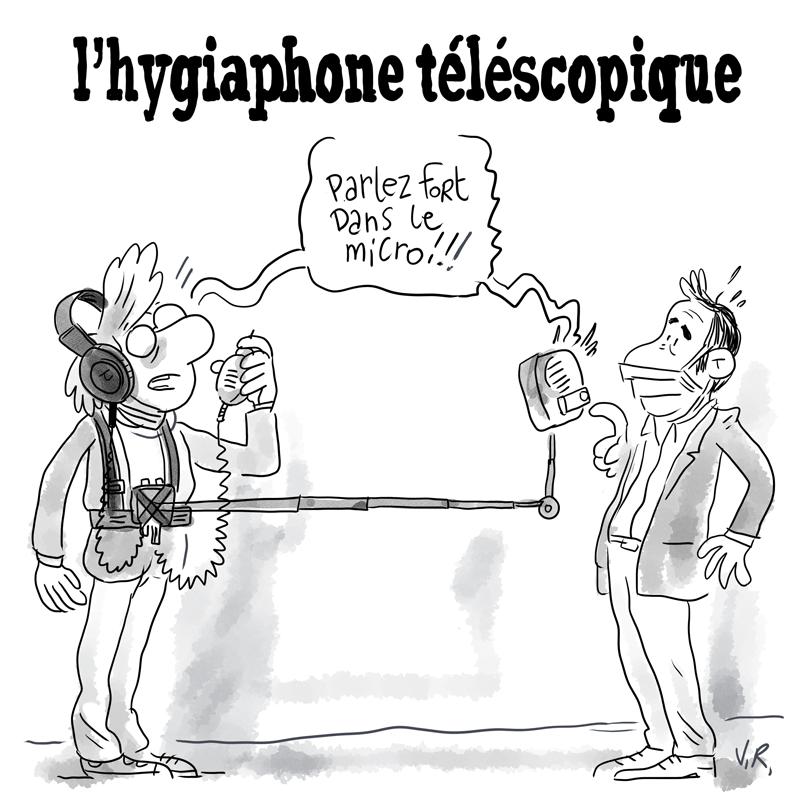Mieux que l'iPhone, l'hygiaphone téléscopique