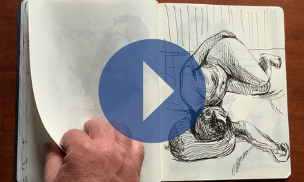 Moleskine de l'atelier de dessin