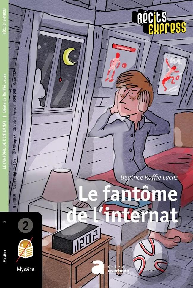 projet de couverture pour le livre Le fantôme de l'internat