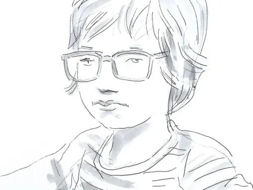 Portraits rapides d'enfants