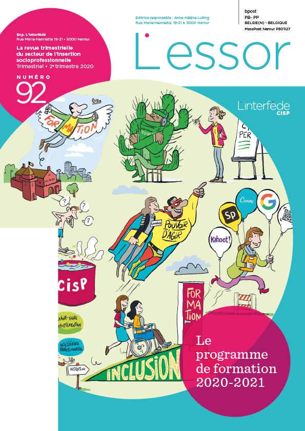 Couverture de la revue L'ESSOR sur les formations de l'Interfédé
