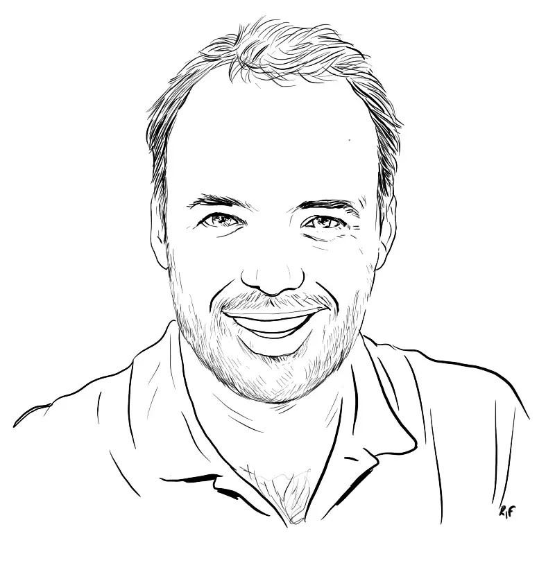avatars dessin en noir et blanc pour associations, entreprises ou magazines
