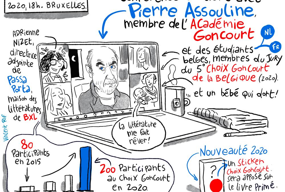Rencontre avec Pierre Assouline