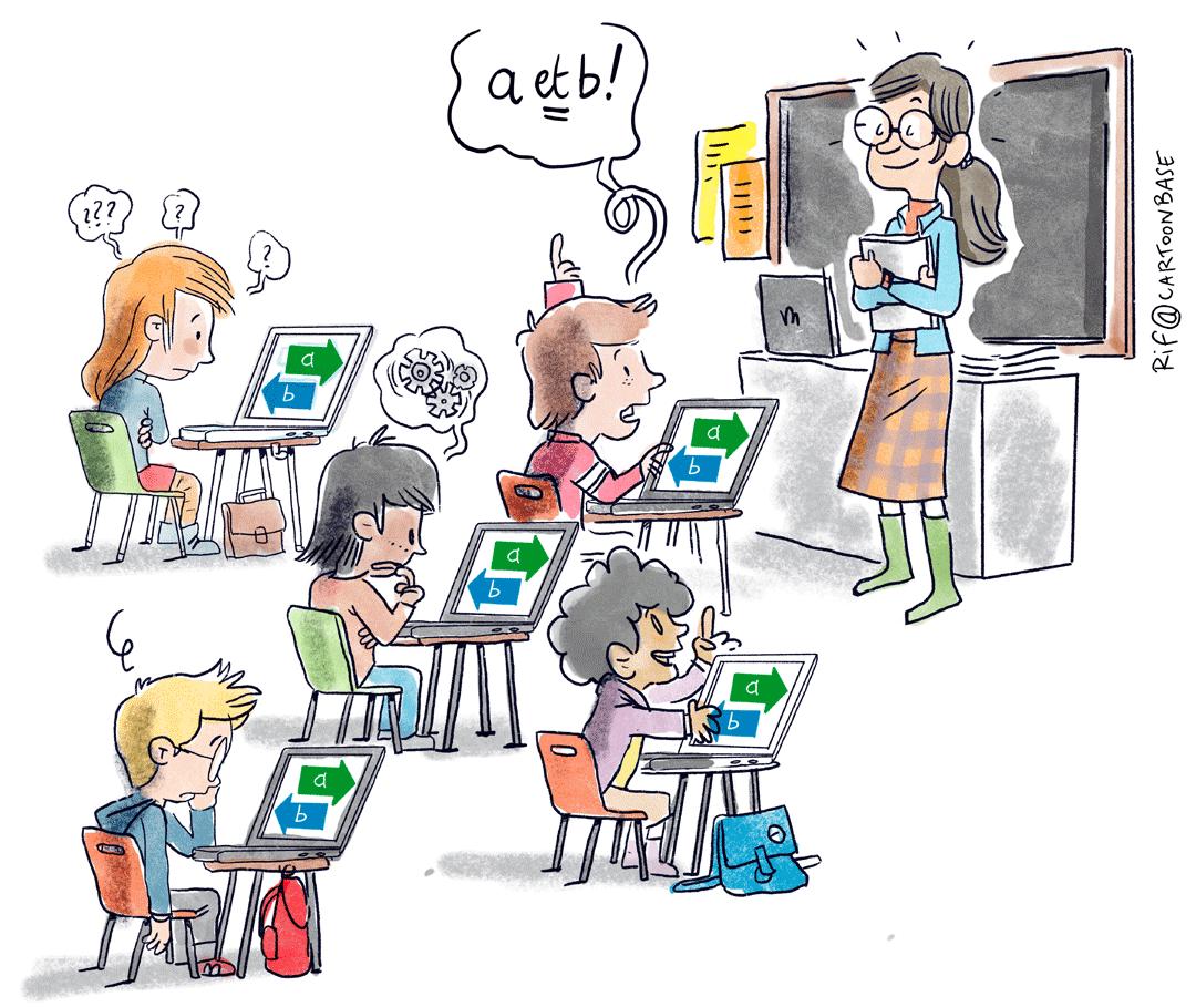 Apprendre à apprendre avec ou sans internet - école - elearning