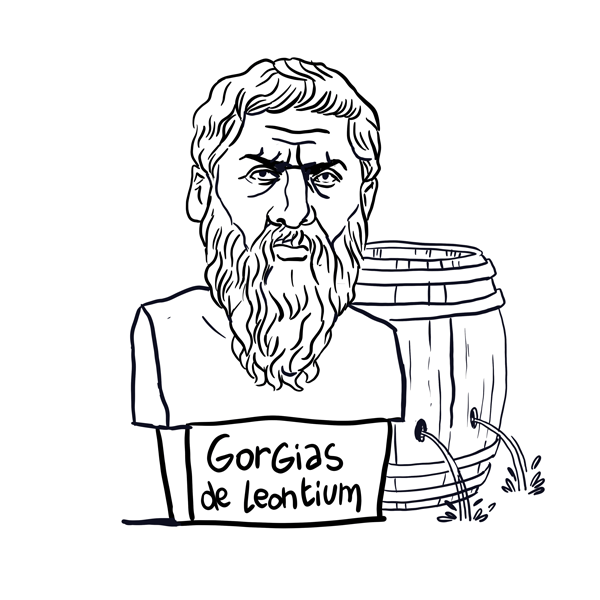 Portrait du philosophe Gorgias de Leontium