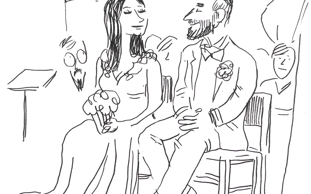 Reportage en dessins de mariage