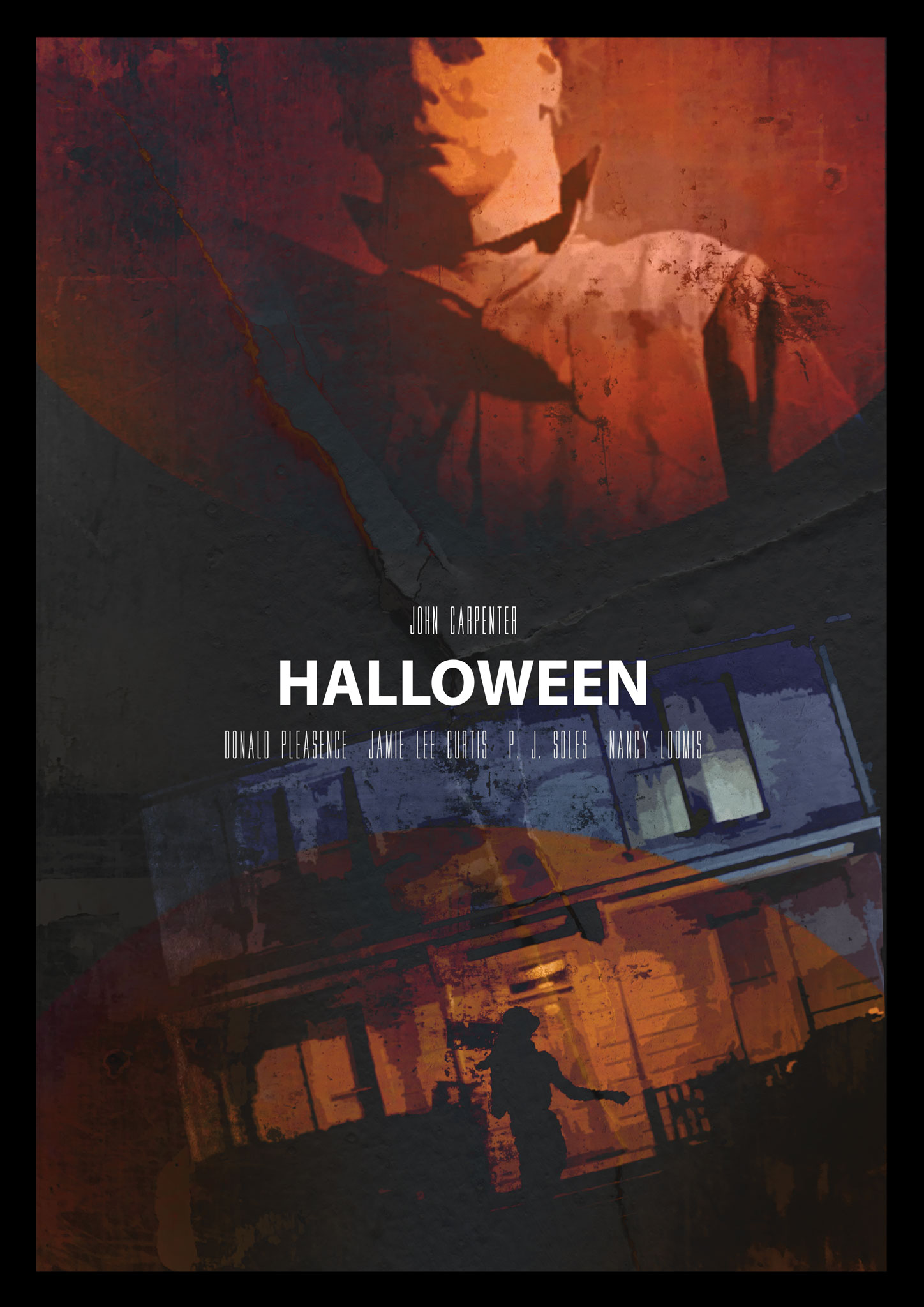 halloween movie poster 70s film
