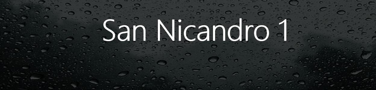 """Problemi tecnici per la stazione meteo """"San Nicandro 1"""""""