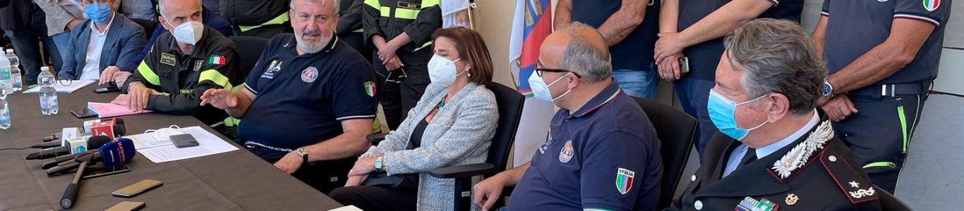 Puglia, al via la campagna AIB 2021 nella nuova Sala Operativa