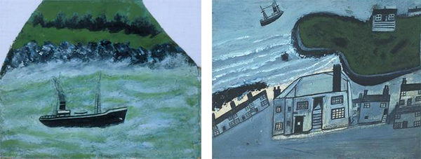 Peintures d'Alfred Wallis