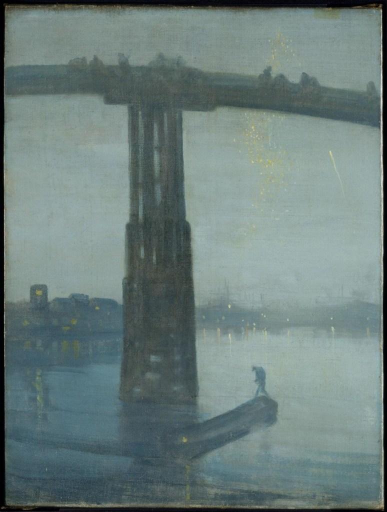 Nocturne en bleu et or - le Vieux Ont de Battersea, James Whistler