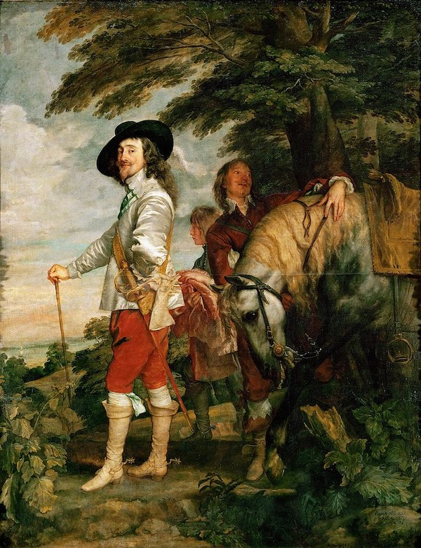 """Antoon van Dyck, """"Charles Ier à la chasse"""", (env. 1635)"""