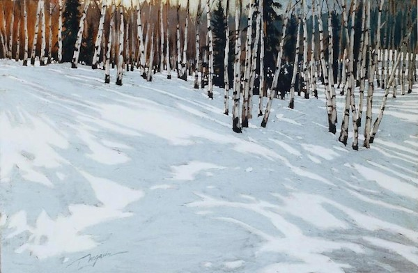 """© David Langevin, """"Onde de neige"""" (2003)"""