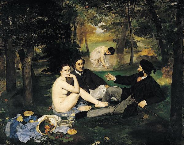 """Edouard Manet """"Le déjeuner sur l'herbe"""""""