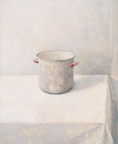 """Vivian Van der Merwe, """"Nature Morte avec pot de Gesso"""""""