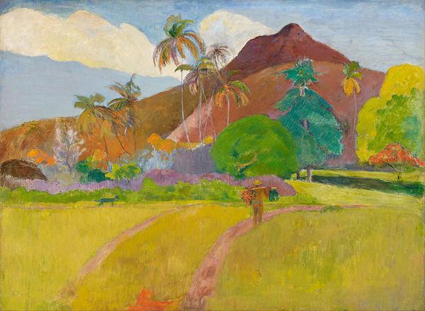 Paul Gauguin, Montagnes Tahitiennes (1891)